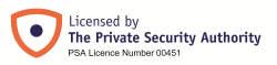 Licensed by the Private Security Authority (PSA Licence No. 00451)